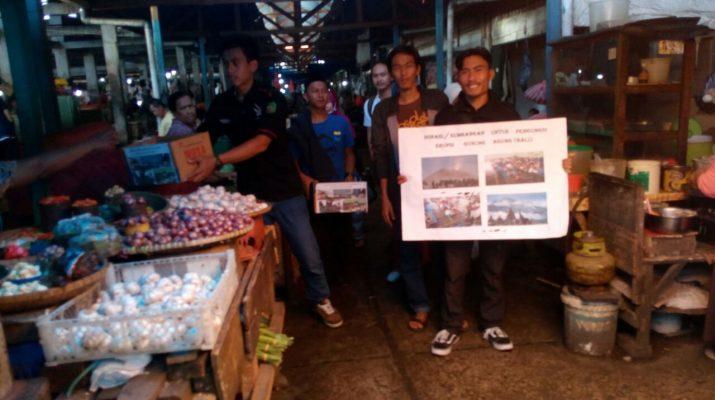 KMHDI Palopo Dan OKP Lintas Agama Galang Dana Untuk Pengungsi Gunung Agung