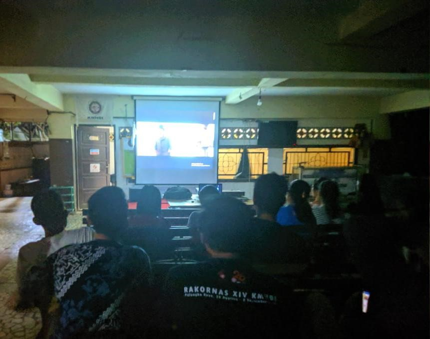 "Tingkatkan Budaya Literasi, PC KMHDI Makassar Gelar Bedah Film ""The Young Karl Marx"""