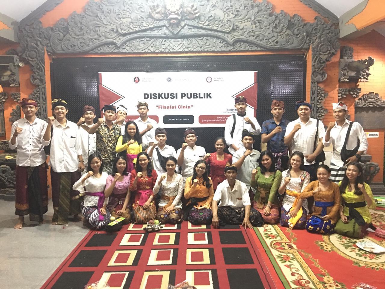 Mengisi Hari Saraswati PC KMHDI Makassar Gelar Diskusi Publik