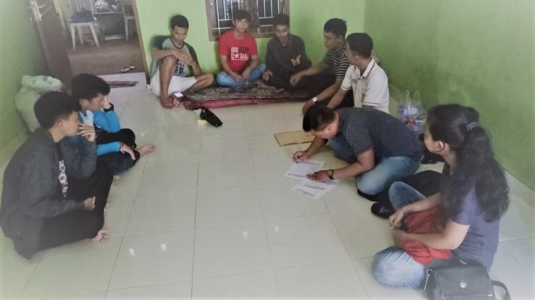 Musyawarah Pergantian Kordinator KMHDI Komisariat Antang