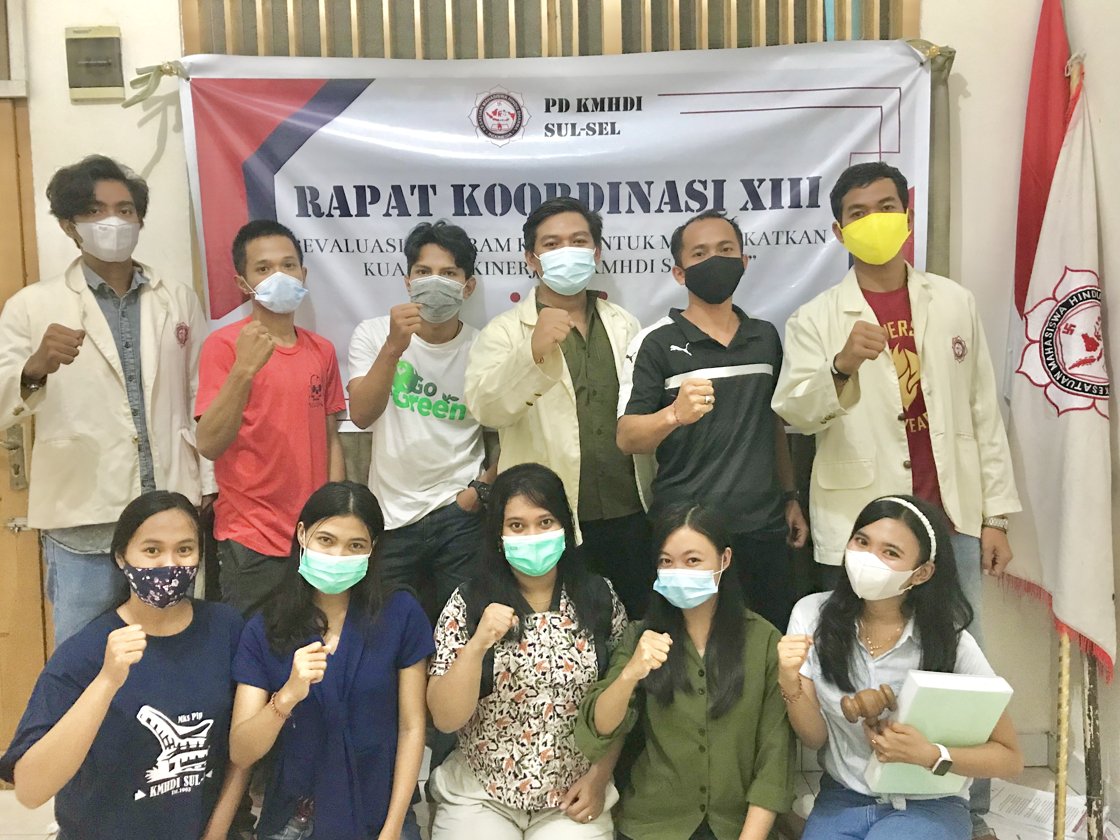 RAKORDA XIII PD KMHDI Sul-Sel, Memaksimalkan Kinerja di Masa Pandemi