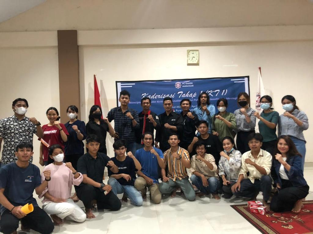 Dalam Rangka Meningkatkan Sikap Kritis Dan Analitis Kader PC KMHDI Makassar Gelar Kaderisasi Tahap 1